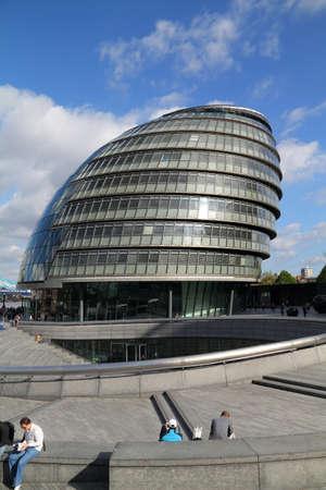 City Hall, Lord Mayors residence, London England  Editorial