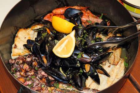 Restaurant - Seafood in the pot - Dubrovnik Croatia