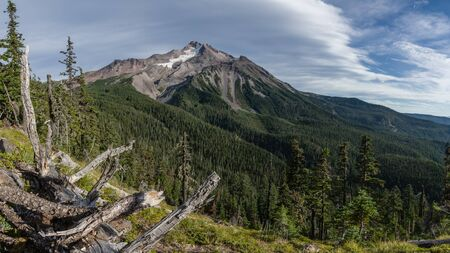 wilderness area: Mt Jefferson. Jefferson Wilderness Area, Oregon
