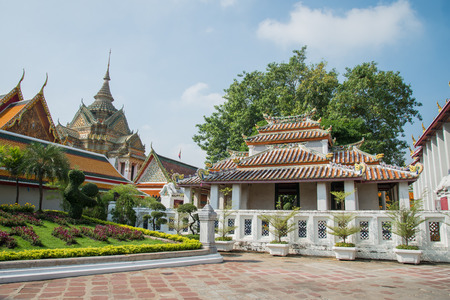 wat pho: Beautiful Wat Pho temple in Bangkok Thailand