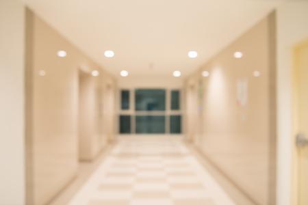 lift gate: Abstract blurred modern elevator hall interior background
