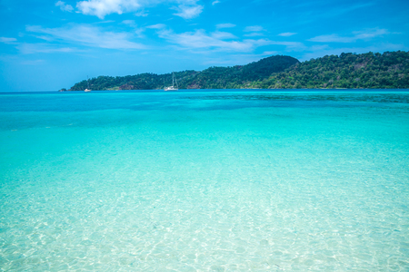 Beautiful tropical island beach - South Andaman, Satun Thailand
