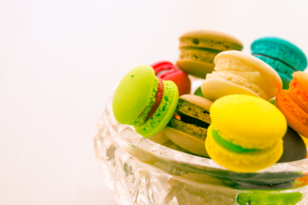 Colorful france macarons - Color tone effect