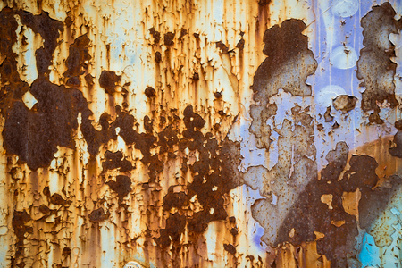 Abstract rusty metal surface texture background Stock Photo