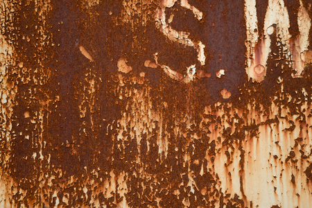 Abstract rusty metal surface texture background Banco de Imagens