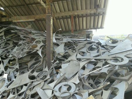 industry: Scrap of stainless