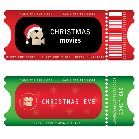 tickets for Christmas Eve  Vector