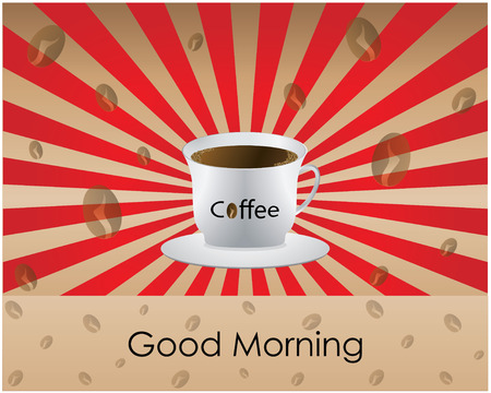 Good Morning coffee - background