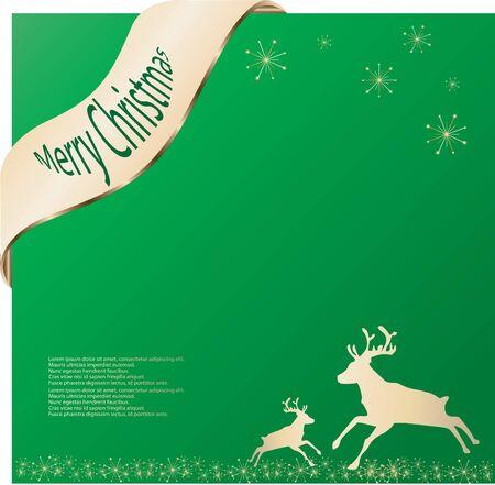 xmas - Merry Christmas Vector