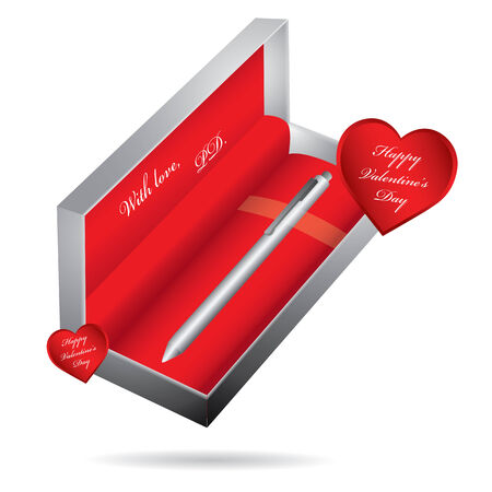 Metal ballpoint pen Stock Vector - 8780822