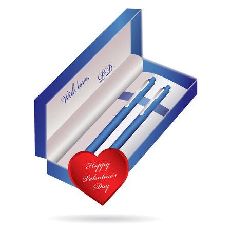 Metal ballpoint pen Stock Vector - 8780823