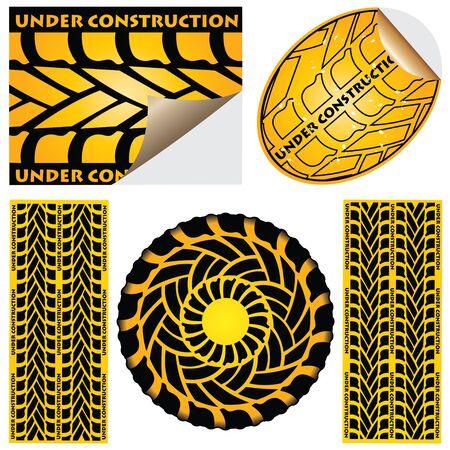 Under construction Stock Vector - 9083160