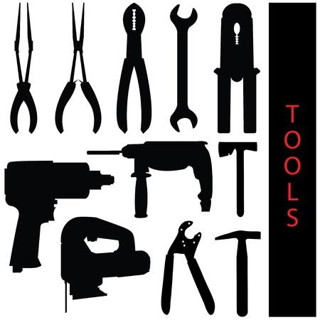 finisher: tools Illustration