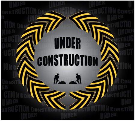 under construction Stock Vector - 9007002