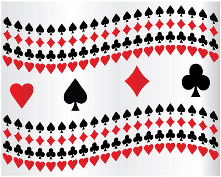 king and queen of hearts: Poker background