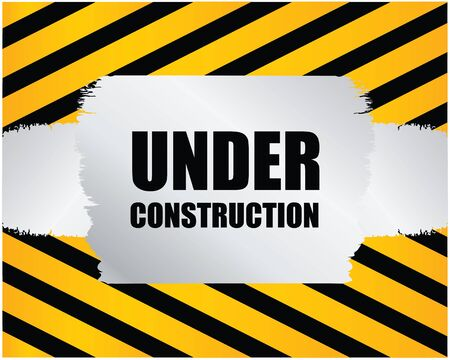under construction background Stock Vector - 9163563