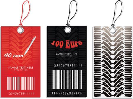 Set of Price tags Stock Vector - 9204695