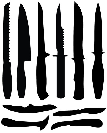 knifes: kitchen Knifes Illustration