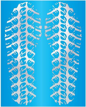 shoeprint: shoeprint Illustration
