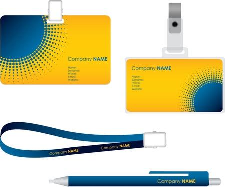 autorizacion: Etiqueta de nombre para la tarjeta de identificaci�n