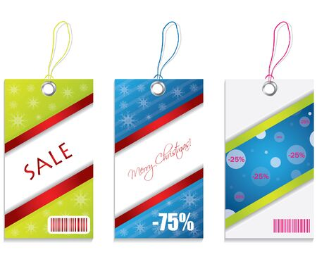 Price tags - special edition Vector