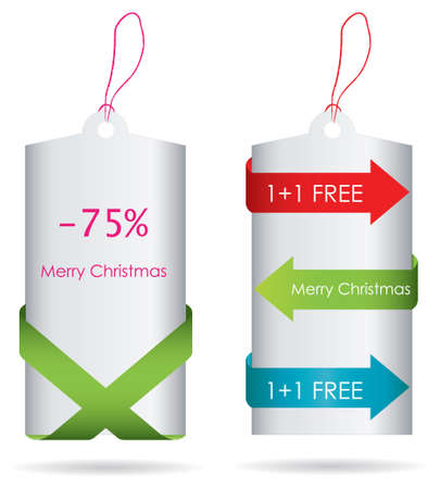 special edition: Special price tags - Christmas edition Illustration