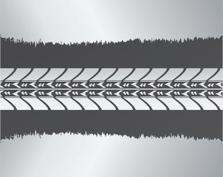 motricit�: fond sp�cial avec la conception de pneu