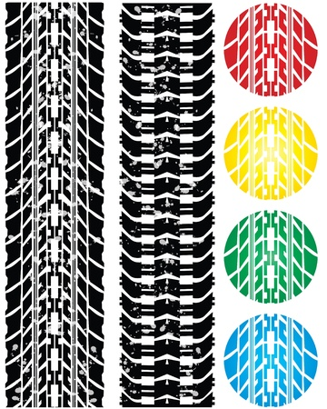 special tire design Vector