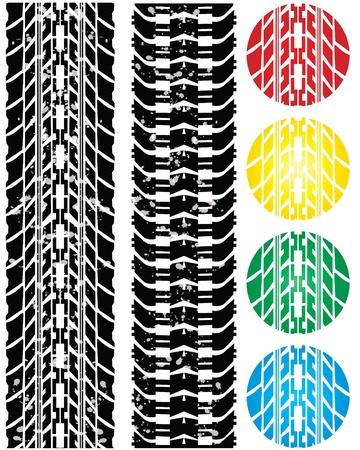 special tire design Stock Vector - 9775635