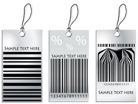 etiquetas de ropa: Conjunto de etiquetas de precio