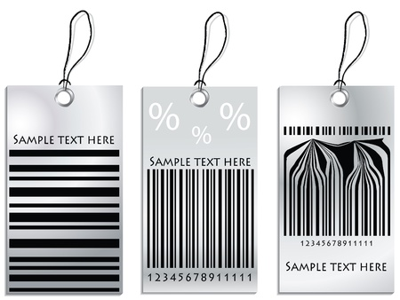 Set of Price tags Illustration
