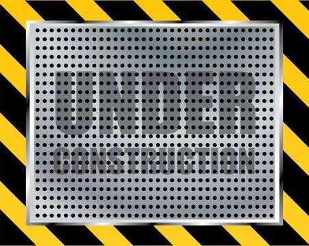 Under construction Stock Vector - 9775613