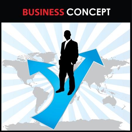 negotiations: concepto de negocio Vectores