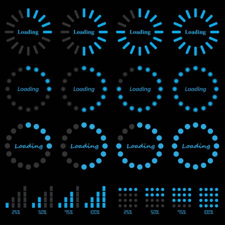 progress: progress indicators Illustration