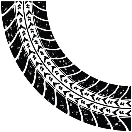 traces pneus: des traces de pneus