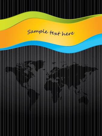 special brochure design Vector