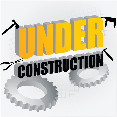 under construction Stock Vector - 10316326