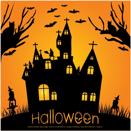 halloween invitation Stock Vector - 10421425