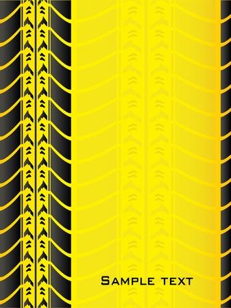 tire tracks: fondo especial con dise�o de los neum�ticos