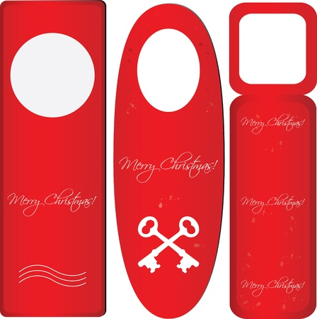 special do not disturb sign - christmas edition Vector