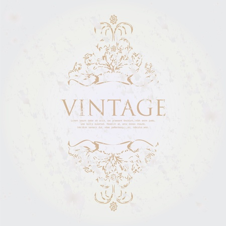 most popular: special vintage frame for your website