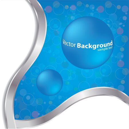 special blue background Vector