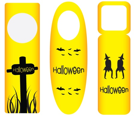 do not disturb sign: do not disturb door hanger with halloween design