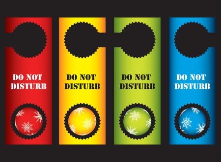 do not disturb: do not disturb sign Illustration