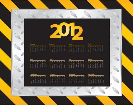 special Calendar Design - 2012 Stock Vector - 11213976