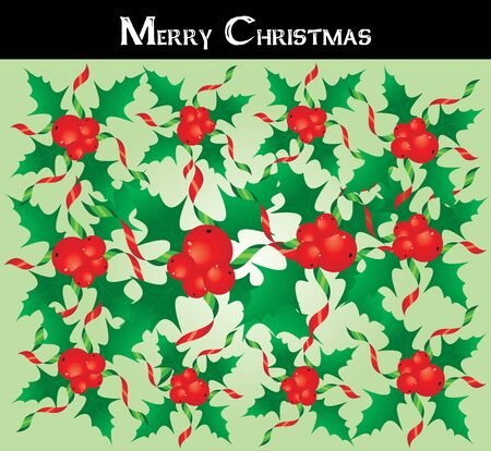 christmastree: Special greeting card for christmas holidays