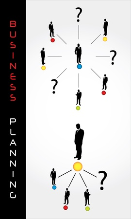 business planning: special business planning elements  Illustration