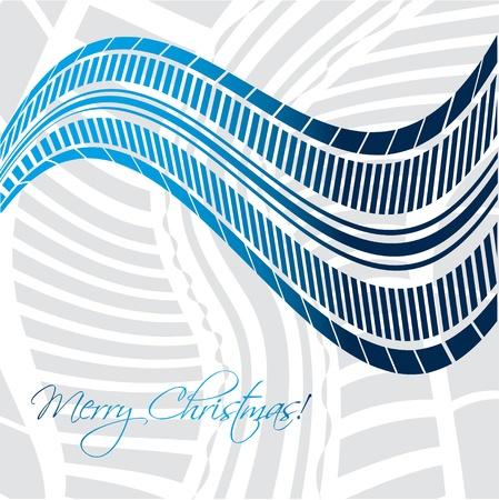 huellas de neumaticos: Navidad de fondo con el diseño del neumático Vectores