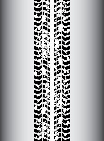 tyre tread: background with special black tire design
