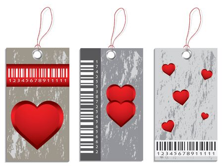 collection of various price tags Vector